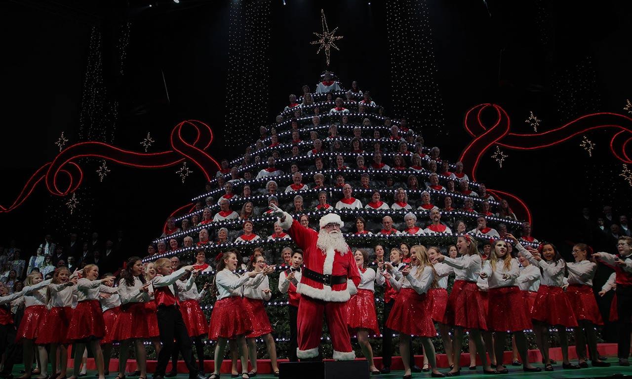 Joyful Voices Choir - Portland's Singing Christmas Tree