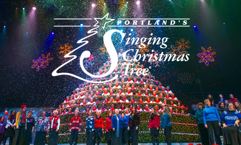 Singing Christmas Tree.Home Portland S Singing Christmas Tree